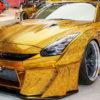 В Еміратах продають унікальний Nissan GT-R золотистого кольору