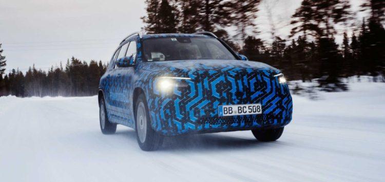 Розкрили нові деталі електричного кросовера від Mercedes