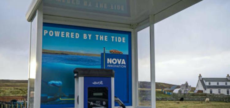 У Шотландії створили зарядку електрокарів від припливів