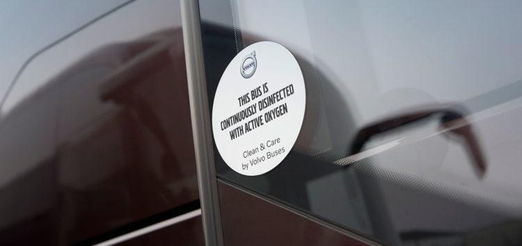 Рішення від Volvo Buses для дезінфекції автобусів
