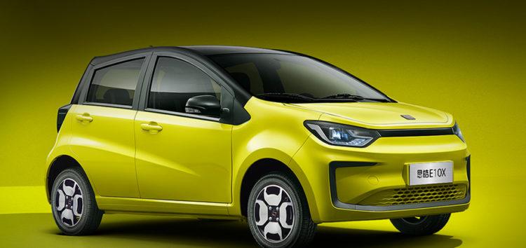 В КНР представили дешевий електромобіль Sol E10X