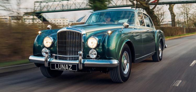 Класичний Bentley Continental переробили в електромобіль