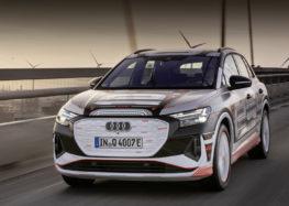 Audi показала салон нового Q4 e-tron