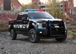 Ford показав новий поліцейський F-150