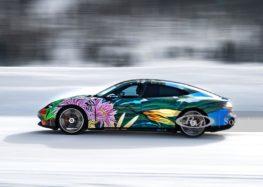 Porsche показав незвичайний Taycan