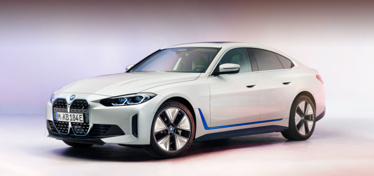 Показали новий електромобіль BMW i4