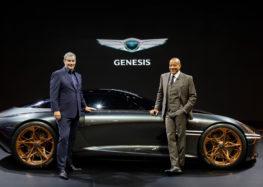Genesis показав новий дорогий електромобіль (відео)