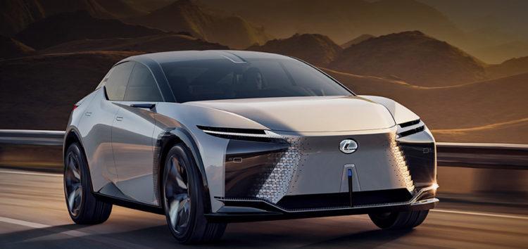 Lexus LF-Z Electrified представляє техніку майбутніх електромобілів