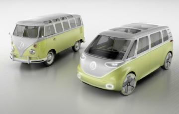 Volkswagen показав концепт електричного мінівена ID.Buzz