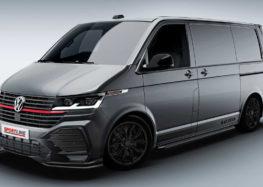 Volkswagen показав фургон Transporter в спортивній версії