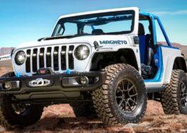Jeep Wrangler перетворили в електромобіль
