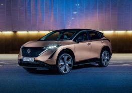 Nissan Ariya представили в двох унікальних кольорах