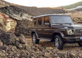 Почалися продажі нового Mercedes-Benz G400d