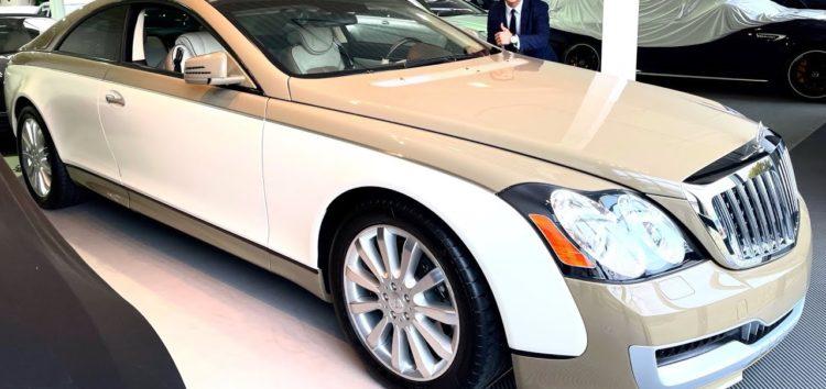 Показали Mercedes-Maybach, який був створений для Муаммара Каддафі (відео)