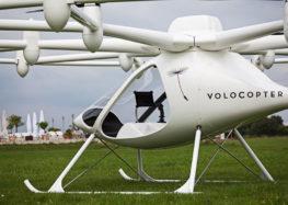 Німецький стартап Volocopter залучив ще 200 мільйонів доларів для виробництва  аеротаксі