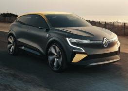 Електрокар Renault Megane 2022 вивезли на тести