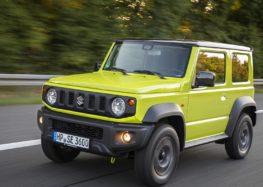 На дорогах проводять випробування подовженого Suzuki Jimny