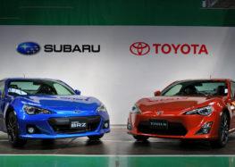 Компании Toyota и Subaru анонсировали совместную новинку