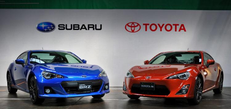 Компанії Toyota та Subaru анонсували спільну новинку