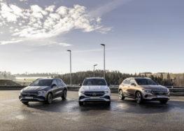 Mercedes-Benz показав нову лінійку електрокарів