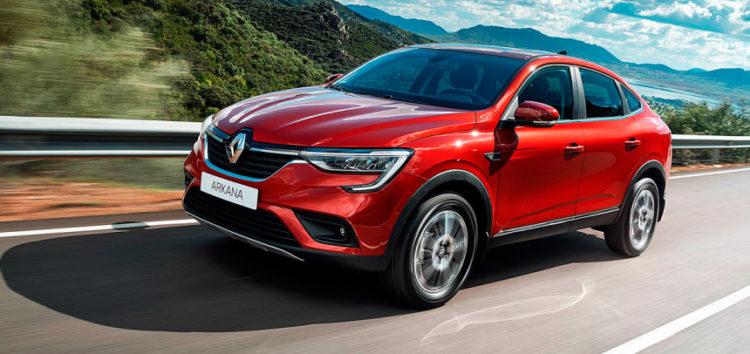 Arkana стала однією з найдорожчих моделей Renault в Німеччині