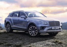 Вже розпочались продажі оновленого Bentley Bentayga