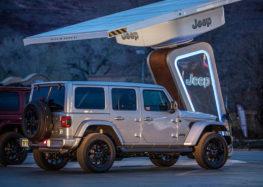 Jeep установить зарядні станції для електричних позашляховиків