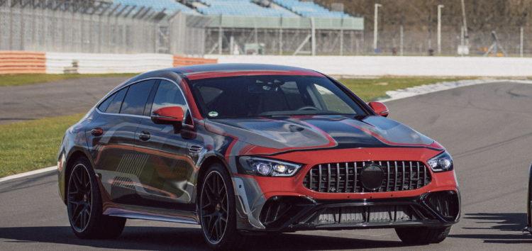 Mercedes офіційно показав новий спортивний седан AMG GT 73