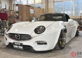 Представили унікальний ретро-автомобіль Mazda
