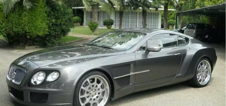 Унікальний суперкар Continental з елементами Ferrari