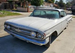 Chevrolet Impala, який належав американським мафіозі виставили на продаж