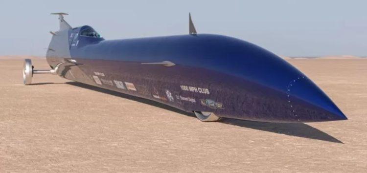 В Австралії зібрали ракетомобіль для рекордів