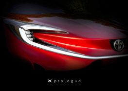 Toyota випустить електрокроссовер X Prologue