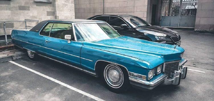 В Одесі знайшли розкішне авто з США 70-х