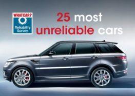 Названо найпроблемніші автомобілі віком до 5 років
