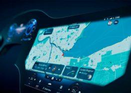Mercedes показав Hyperscreen на відео