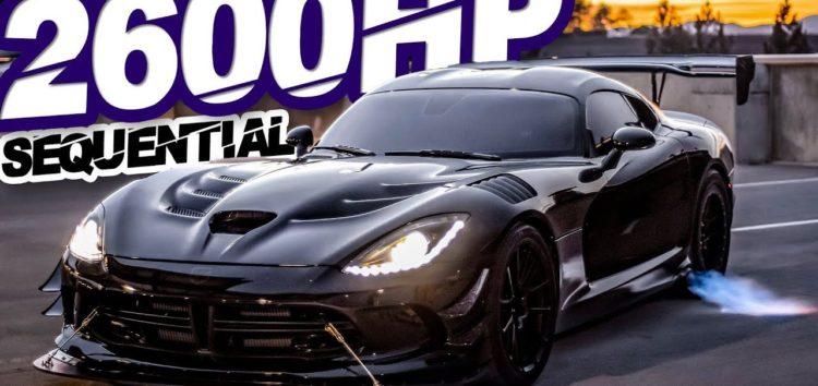 Dodge Viper прокачали потужність до 2666 к.с.! (відео)