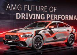 Mercedes-AMG показав 800-сильний гібридний мотор