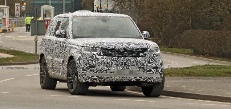 Новий Range Rover був помічений під час тестування