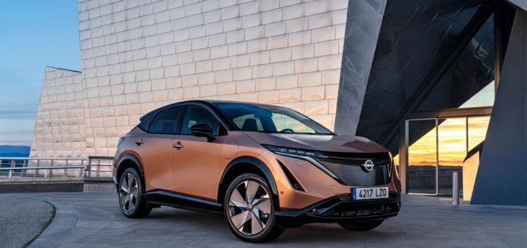 В Японії тестують новий електрокросовер Nissan Ariya
