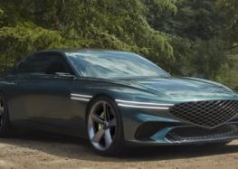 Genesis випустив нове купе X Concept