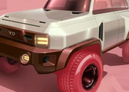 Дизайнер Toyota показал свое видение FJ Cruiser нового поколения