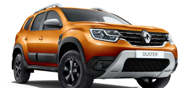 Renault представила оновлений Duster