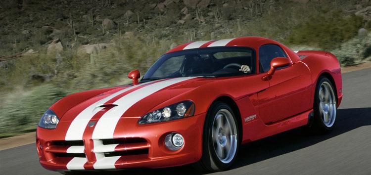 Dodge Viper називають найстрашнішим спорткаром