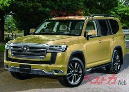 Розкрили нові деталі Toyota Land Cruiser 300