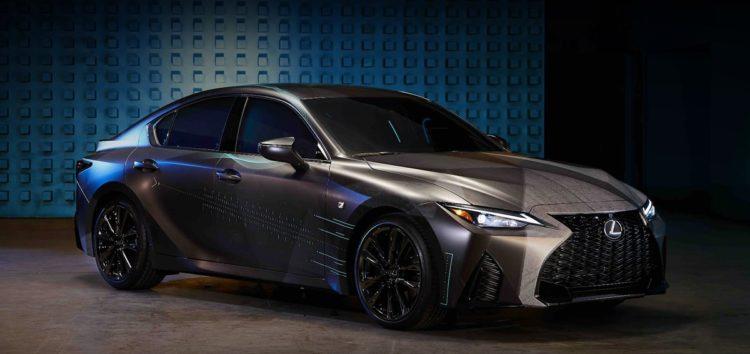 Lexus створила унікальний седан для геймерів