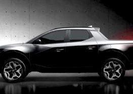Hyundai скоро представить новий пікап Santa Cruz