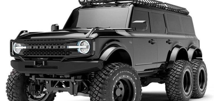 Шестиколісний Ford Bronco зробили в десять разів дорожчим звичайного