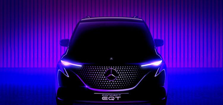 Компанія Mercedes представила перше фото електромобіля EQT