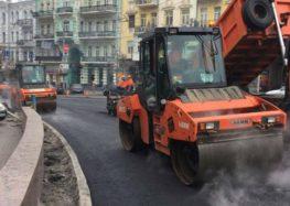 В Киеве до средины лета отремонтируют одну из главных дорог